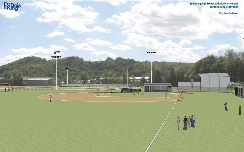 Baseball Field- Model800